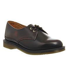 bb043aa10e6e Dr. Martens Kensington Brook 2 Eye Shoes Cherry Red Arcadia - Flats
