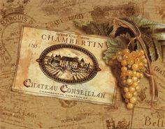 Wine Labels, Posters and Prints at Art.com