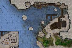 Smugglers cove coastal river lake docks