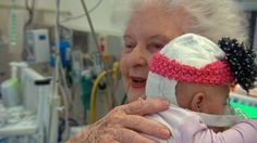 Cuddling Babies: Hospital Volunteers Show the Power of Human Touch - ABC News