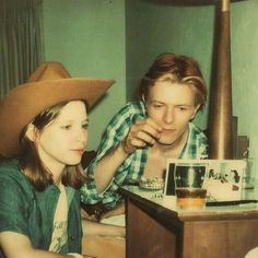 David Bowie & Candy Clark