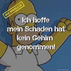 #Homer #Simpson #Schaden #gehirn #brüller #spruch #sprüche #spruchseite #life #lifeisstrange #lifehacks