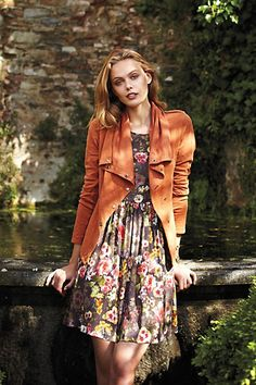 jacket + dress #anthropologie #anthrofave