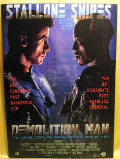 Movie Program Japan- DEMOLITION MAN /1994/ SYLVESTER STALLONE, WESLEY SNIPES
