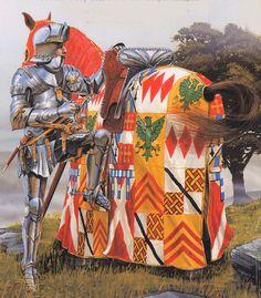 15th Century knight - artist unknown