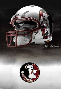 FSU - Florida State University Seminoles - concept football helmet