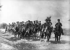 Cossacks of the russian army during world war I