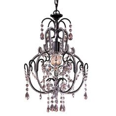 I pinned this Minka Taylor Mini Chandelier from the Pamela Copeman event at Joss and Main!