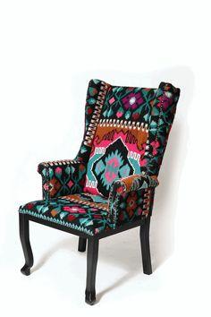 Fotoliu romanesc - Lemn Masiv - Lucrat manual Motivul Maramures 4 Case, Wingback Chair, Folk Art, Accent Chairs, Furniture Design, Kitchens, Challenges, Design Inspiration, Magic