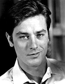 """Alain Delon Beautiful inside and out    a lovable rogue  At 14, Delon left school, and worked for a brief time at his stepfather's butcher shop. He enlisted in the French Navy three years later, and in 1953-54 he served as a fusilier marine in the First Indochina War. Delon has said that out of his four years of military service he spent 11 months in prison for being """"undisciplined"""". In 1956"""