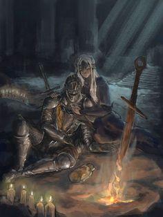 Resultado de imagen para dark souls fan art