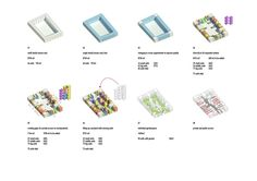 Image 28 of 29 from gallery of Urban Hybrid Housing Winning Proposal / MVRDV. Photograph by MVRDV Win Competitions, Interior Design Programs, Social Housing, Concept Diagram, Landscape Plans, Urban Planning, Urban Design, Planer, How To Plan