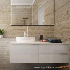 Bc15 L02 Modern White High Gloss Lacquer Bathroom Cabinet