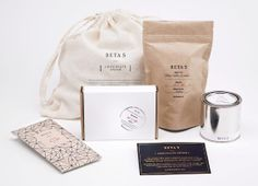 rustic + modern + minimal packaging + branding + styling