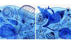 Margaret Berg : summer / nautical / fish