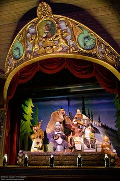 The Country Bear Jamboree. Loved this show..you can still see remnants of it in the winnie the poo ride.