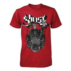 Chalice Tee (Oct 2016) Here Comes The Summer, Red Ghost, Cotton Tee, Size Chart, Hoodies, Tees, Mens Tops, T Shirt, Clothes