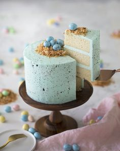 This cake is a must make if you love vanilla. It is so moist and easy to make that I have a feeling it will become your new go to cake recipe. You're just sifting the dry ingredients and giving them a whisk then mixing all the wet ingredients and finally combining the two, mixing for a minute or two until combined.