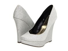 Silver Prom Shoes for Women