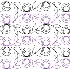 Modern Flower - Digital - Quilts Complete - Continuous Line Quilting Patterns