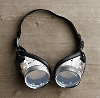 German Goggles from Restoration Hardware