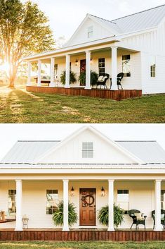 Ideas For Farmhouse House Plans Small Metal Buildings 31 Ideas For Farmhouse House Plans Small Metal Ideas For Farmhouse House Plans Small Metal Buildings 35 stunning modern dream house exterior design ideas 12 Pole Barn House Plans, Pole Barn Homes, New House Plans, Small House Plans, Metal House Plans, Shop House Plans, Barn Plans, Metal Building Homes, Metal Homes