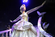 Cinderella: Cinderella was dressed by the queen of the big occasion gown - Donatella Versace