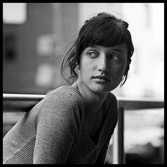 Square Format Hasselblad Portrait.