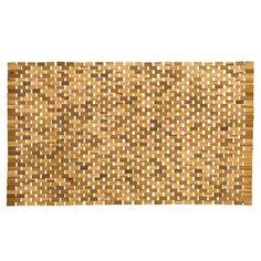 Sealskin Woodblock Badmat 52 x 90 cm Household, Door Mat, Home Decor