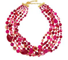 pretty 6 strand necklace http://rstyle.me/~1MGzZ