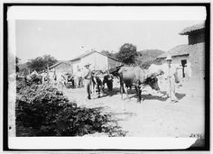 Somewhere in Honduras between 1909 and 1919