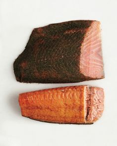 Smoked and Cured Fish Glossary: Gravlax and Kippered Salmon Cookbook Recipes, New Recipes, Cooking Recipes, Fish And Meat, Fish And Seafood, How To Make Sausage, Making Sausage, Russ And Daughters, Viking Food