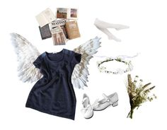 """angel nymph"" by nymphet-lolita on Polyvore featuring By Zoe, Abigail Ahern and Hue"