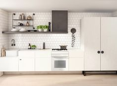 I was very happy to discover the Melbourne based design firm Studio You Me thanks to Est who featured one of their incredible projects re. Kitchen Dinning, New Kitchen, Kitchen Ideas, Stylish Kitchen, Kitchen Tile, Kitchen Inspiration, Studio Kitchen, Kitchen Design, Urban Kitchen