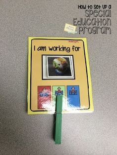"The Autism Adventures of Room 83: ""How To Set Up A Special Education Program""- Working Cards/Whole Class Behavior Management"