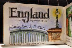 visual blessings-England Travel Journal