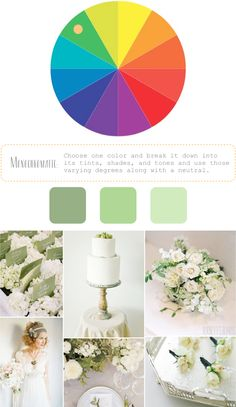 How to Create Color Palettes / monochromatic