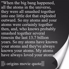 i origins movie quote