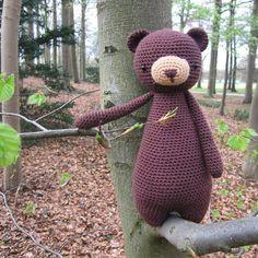 Happy Sunday!  Bear was feeling a little stressed so he took some time for himself to go on a walk.  It's okay to slow down and take care of yourself when you need to Bear!  #etsy #etsyshop #etsyseller #littlebearcrochets #bear #instacrochet  #haken #hakeniship #haakpatroon #häkeln #nature #crochet #crochetpattern #crochetaddict #crocheting #crochetersofinstagram #crochetdoll #amigurumibear #amigurumi #amigurumiaddict #amigurumilove #amigurumipattern #naturewalk by littlebearcrochets