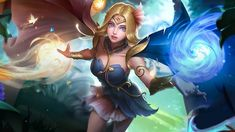 Lunox Ash Blossom by makinig on DeviantArt Fairy Wallpaper, Mobile Legend Wallpaper, Nature Wallpaper, Moba Legends, Legend Images, Female Characters, Fictional Characters, New Skin, Bloody Mary