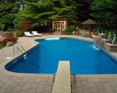 Cheap Pool Fence Ideas fence swimming with bamboo Inground Pools Google Search