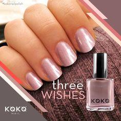 "Every girls wish is to have the complete palette of nail polishes! ""Three Wishes"" by KOKO Nails. #kokonailpolish #france #polish #dubai #mydubai #dxbconnect #UAE #dubainails #nails #polishes"