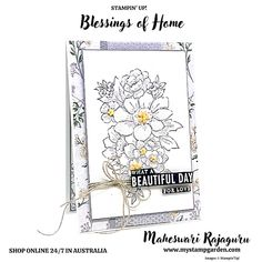 MyStampGarden: Stampin' Up! New - Blessings of Home