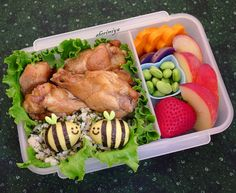 Bento box (honey bees)