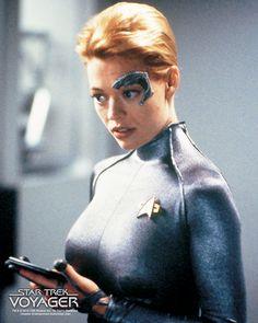 Jeri Ryan of Star Trek: Voyager