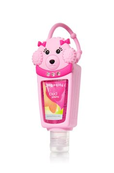 Tori Stuart's Pink Poodle PocketBac Holder - Bath & Body Works - Bath & Body Works and my hand sanitizer Scented Hand Sanitizer, Hand Sanitizer Holder, Alcohol En Gel, Justice Accessories, Pink Poodle, Kids Makeup, Lush Bath, Whipped Body Butter, Bath And Bodyworks