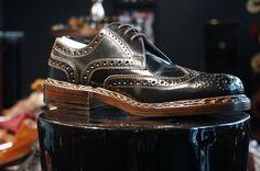 Finest Cordovan shoes available at Oxblood Zürich Europaallee 19 www.oxbloodshoes.com #cordovan #dandy #brogues #budapester #heinrichdinkelacker #gentleman #zopfnaht #dapper #horween #euroapaallee #handmade Men Dress, Dress Shoes, Oxblood, Shoe Collection, Dapper, Oxford Shoes, Lace Up, Shopping, Fashion