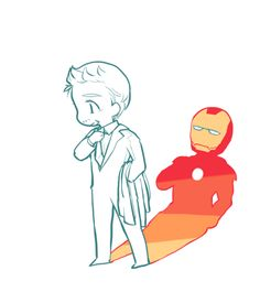 i don't know why it looks small.. this is for kurowrites and mrs-danny-gold. they requested Tony, no. 9 almost same time.