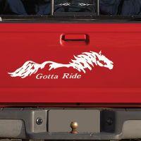 Gotta Ride Horse Decal