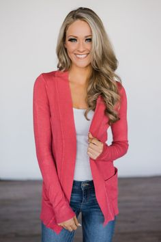 Essential Orchid Pink Cardigan